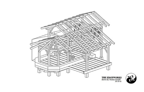 Free Small Timber Frame House Plans | The Year of Mud