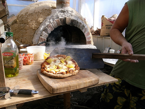 chadu0027s killer wood fired pizza oven design the year of mud natural building workshops