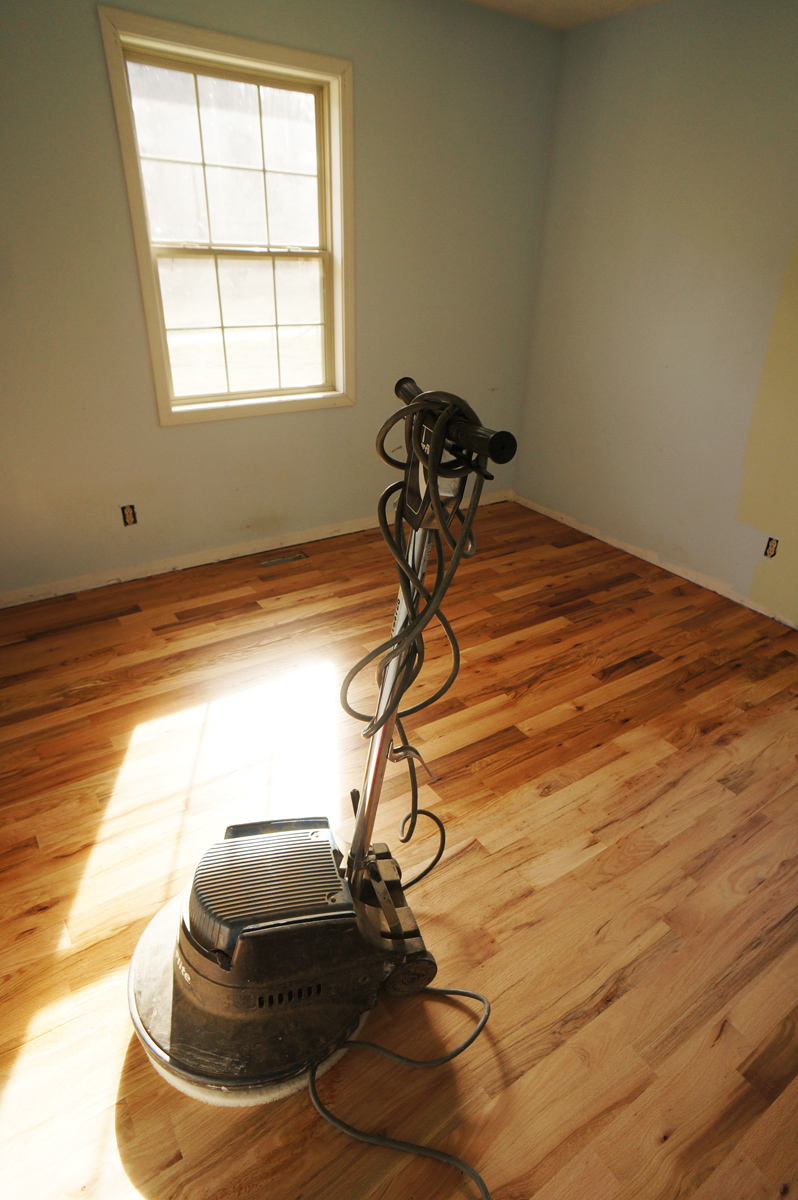 Rubio Monocoat Floor Finish Buffing