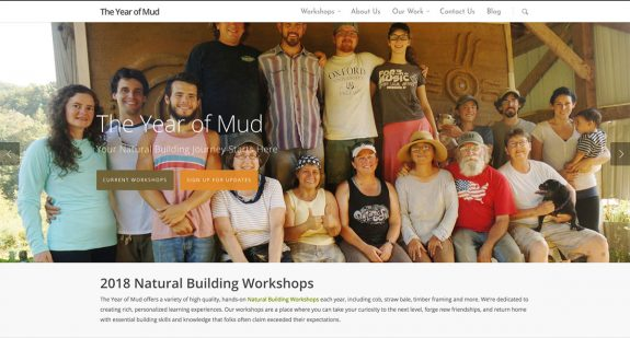 The Year of Mud: new design