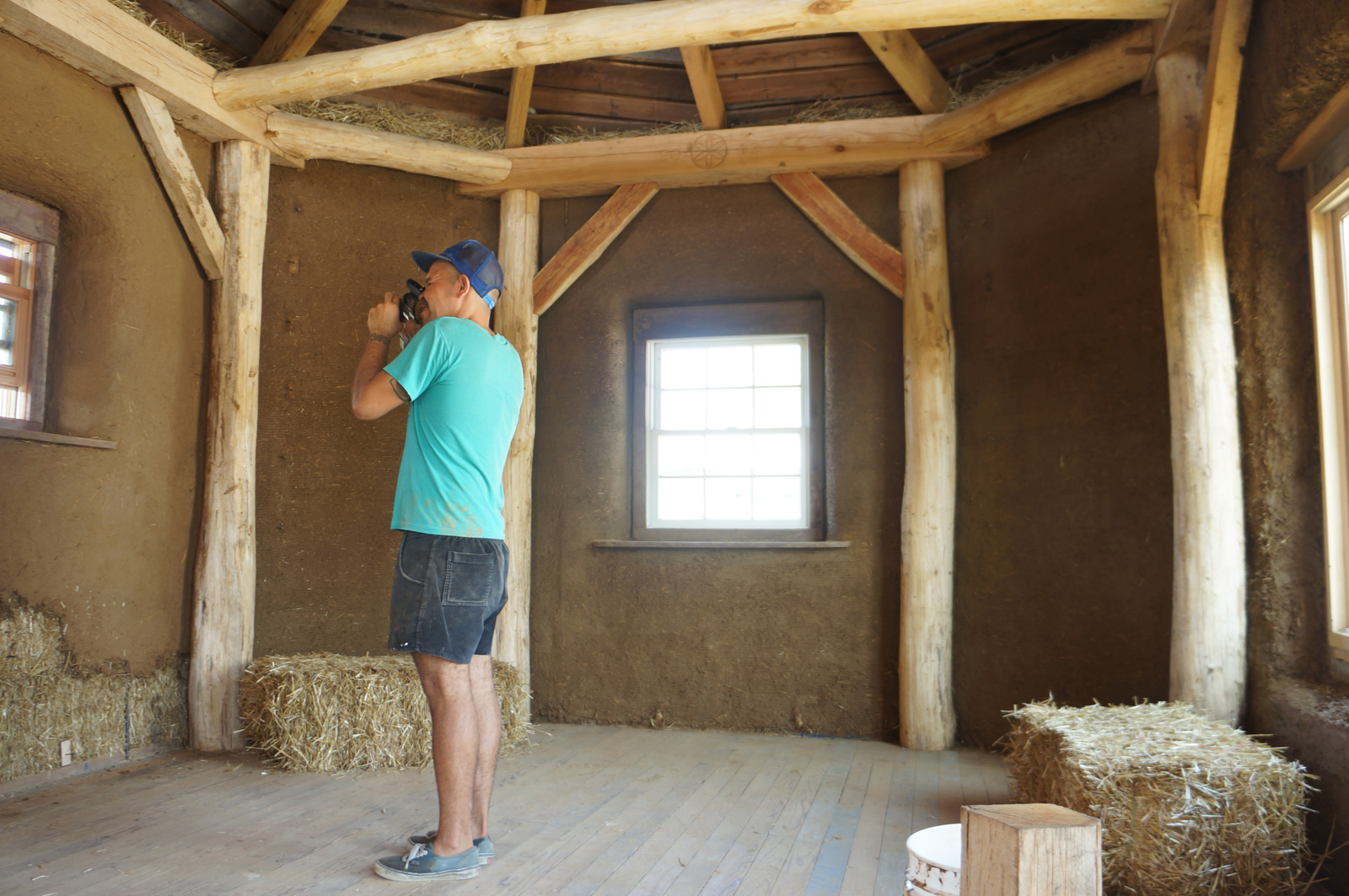 Timber Framing Straw Bale Advantages Timber Frame