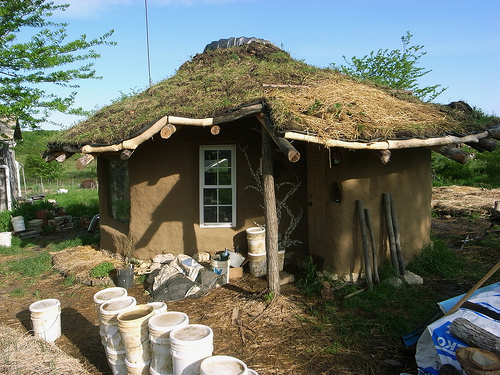Living Roof Building A Living Roof For A Cob House Sod