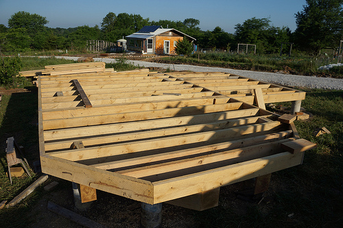 Pier and beam foundation foundation construction and design for How to build a floor for a house