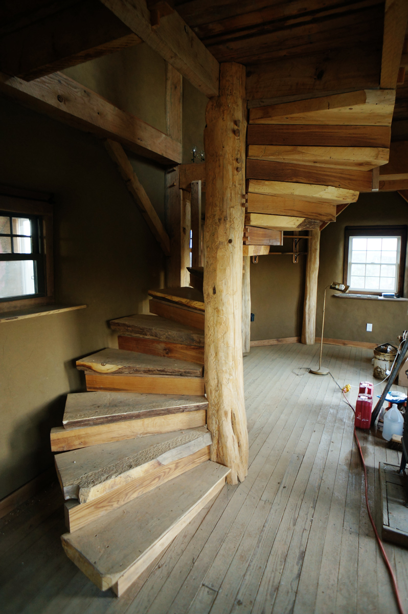 Wooden Spiral Staircase Redux The Year Of Mud