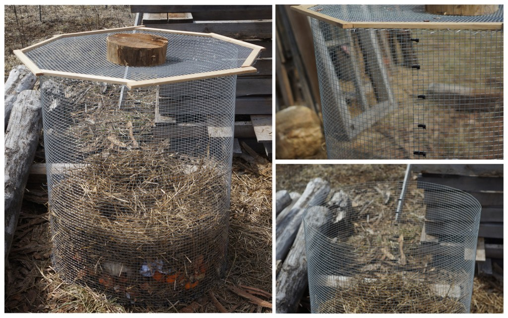 Compost Bin Plans Rodent And Dog Proof
