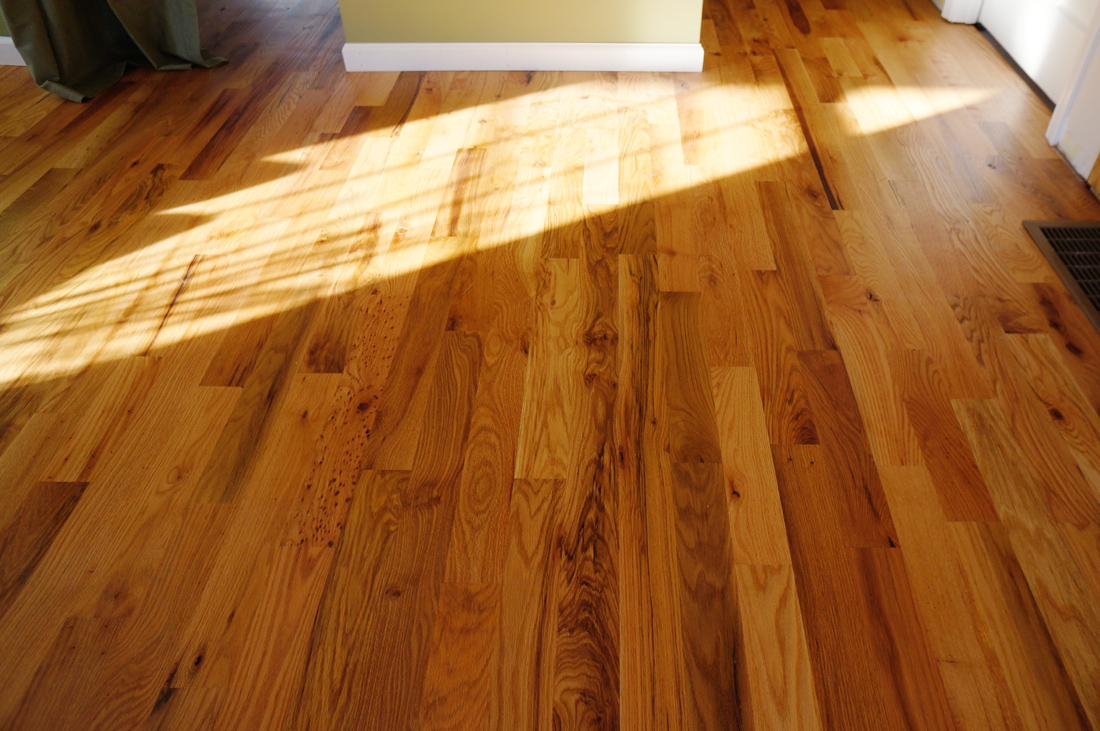 Rubio Monocoat Oil Finish On Red Oak Floor